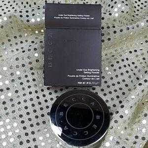 New BECCA under eye setting powder